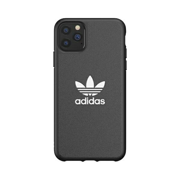 スマートフォン・携帯電話用アクセサリー, ケース・カバー  adidas iPhone 11 Pro Max 6.5 OR Moulded Case TREFOIL blackwhite 36286