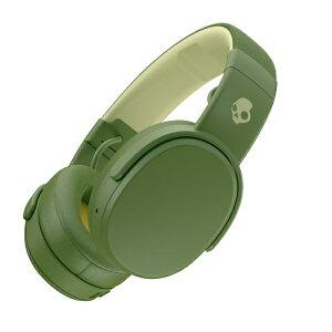 SKULLCANDY スカルキャンディ ブルートゥースヘッドホン S6CRW-M687 オリーブ [リモコン・マイク対応 /Bluetooth][CRUSHERWオリーブ]
