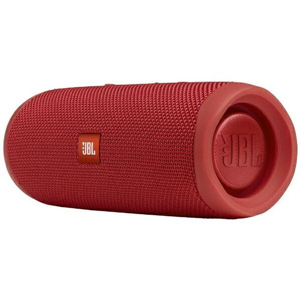 オーディオ, スピーカー JBL JBLFLIP5RED Bluetooth JBLFLIP5RED