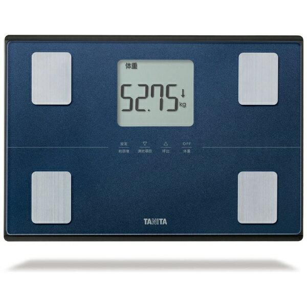 タニタTANITAタニタ体重体組成計健康管理お手軽ダイエット50g単位立てかけ収納OKメタリックブルーBC316BL BC316