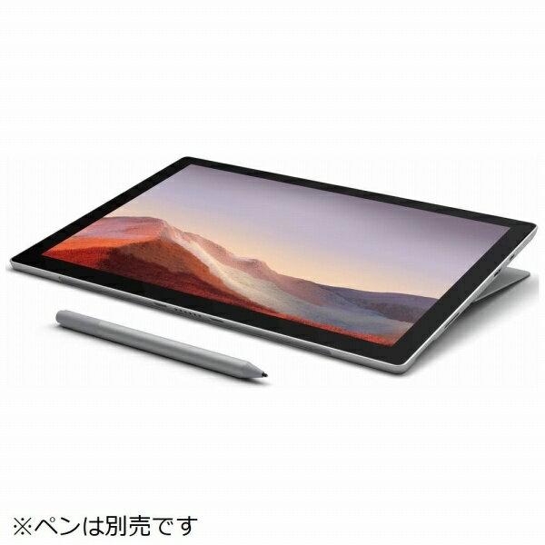 スマートフォン・タブレット, タブレットPC本体  Microsoft SurfacePro7 12.3 SSD 256GB 8GB Intel Core i5 2019 PUV-00014 Windows 7 12PUV00014