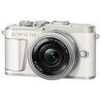 オリンパス OLYMPUS PEN E-PL10 ミラーレス一眼カメラ 14-42mm EZ レンズキット ホワイト [ズームレンズ][PENEPL10EZレンズキット]