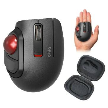 エレコム ELECOM M-MT1BRSBK マウス トラックボール ブラック [光学式 /5ボタン /Bluetooth /無線(ワイヤレス)][MMT1BRSBK]