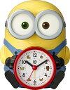 リズム時計 RHYTHM おしゃべり目覚まし時計 ミニオンズ