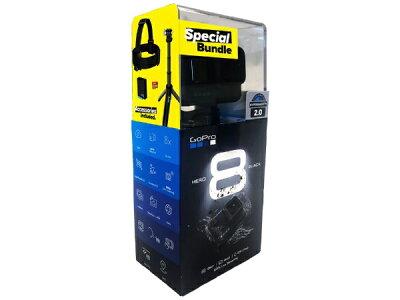 GoPro ゴープロ アクションカメラ GoPro(ゴープロ) HERO8 Black 限定ボックスセット CHDRB-801-FW [4K対応 /防水][ヒーロー8 セット ブラック gopro8 CHDHX801FW]・・・ 画像1