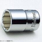 山下工業研究所 KO-KEN TOOL 3405W-5/16 3/8インチ(9.5mm) 12角BSWソケット(英国規格ソケット) W-5/16インチ 3405W-5/16