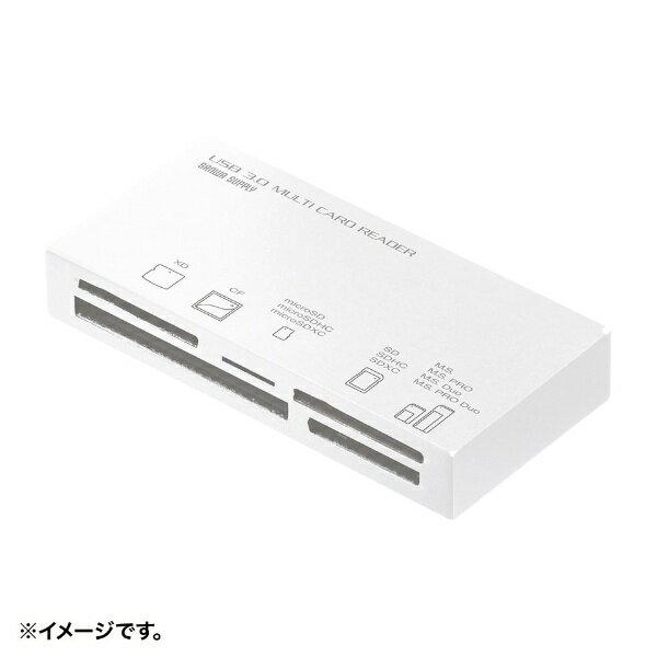 外付けドライブ・ストレージ, 外付けメモリカードリーダー  SANWA SUPPLY ADR-3ML50W USB3.1