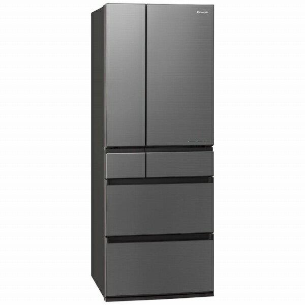 パナソニック Panasonic 《基本設置料金セット》冷蔵庫 WPXタイプ ミスティスチールグレー NR-F556WPX-H [6ドア /観音開きタイプ /550L][冷蔵庫 大型]