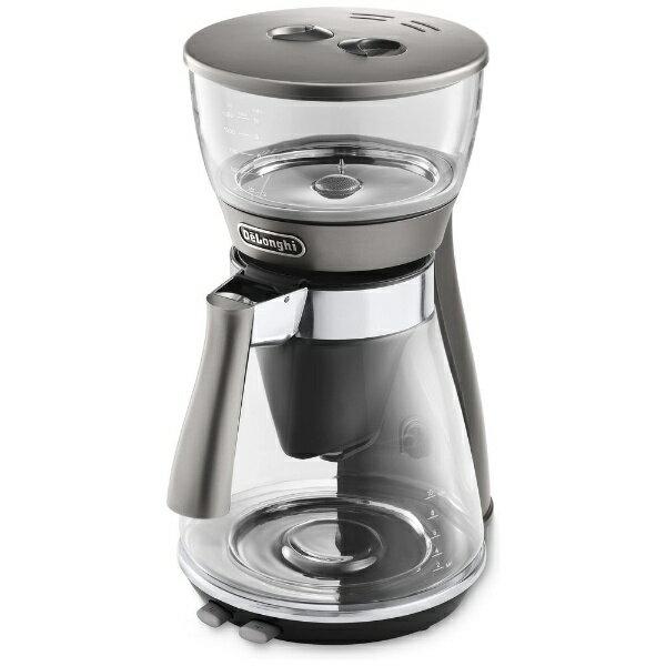 デロンギ Delonghi ドリップコーヒーメーカー クレシドラ シルバー ICM17270J