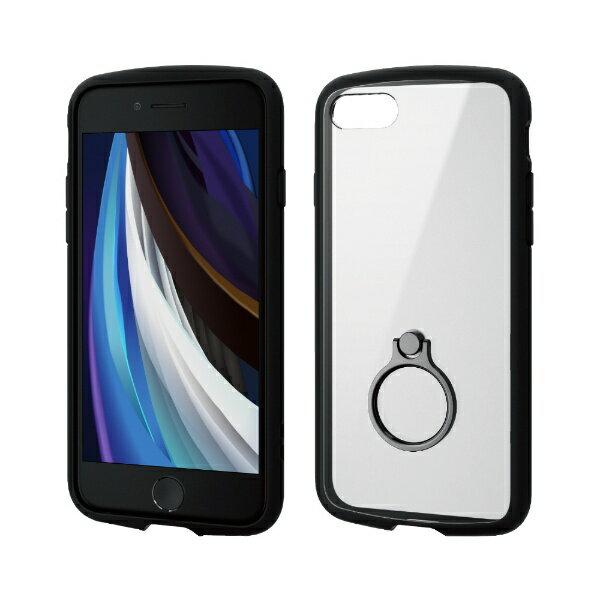 スマートフォン・携帯電話アクセサリー, ケース・カバー  ELECOM iPhone SE24.7 TOUGH SLIM LITE PM-A19ATSLFCRBK