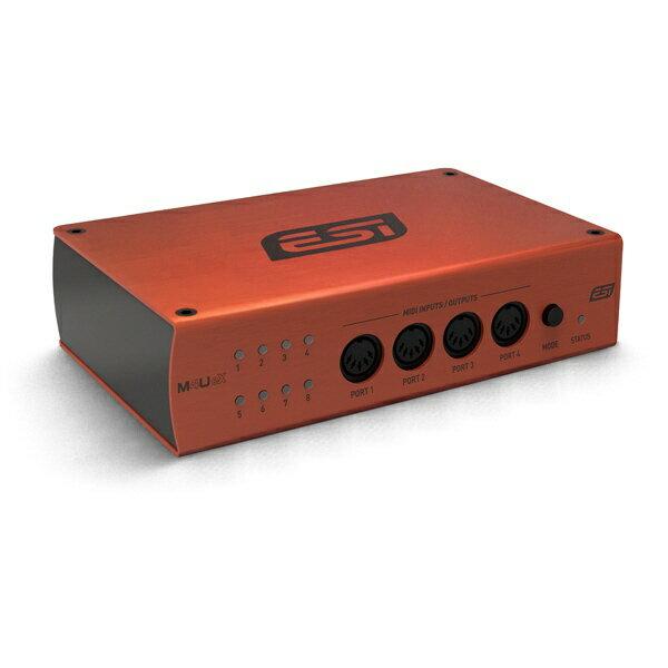 DAW・DTM・レコーダー, MIDIインターフェイス ESI MIDI 8 USB3.0 INOUT M4U eX