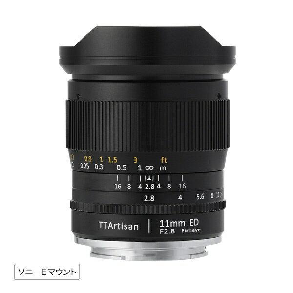 カメラ・ビデオカメラ・光学機器, カメラ用交換レンズ  TTArtisan E11mm f2.8 FisheyeE