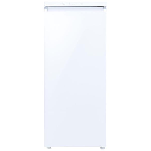 AQUA アクア ファン式冷凍庫 クリスタルホワイト AQF-GS13J-W [1ドア /右開きタイプ /134L]