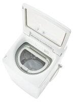 AQUA アクア 縦型洗濯乾燥機 GTWシリーズ ホワイト AQW-GTW100J-W [洗濯10.0kg /乾燥5.0kg /ヒーター乾燥(排気タイプ) /上開き][洗濯機 10kg]