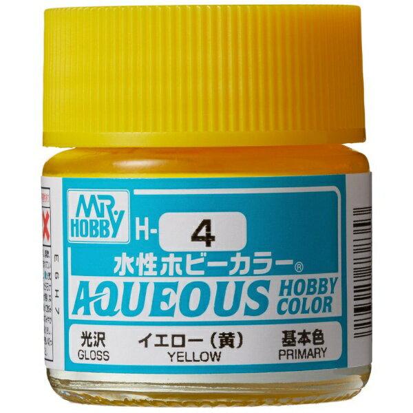 GSIクレオスGSICreos水性ホビーカラーH4イエロー(黄)