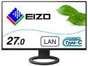 EIZO エイゾー EV2795-BK USB-C接続 PCモニター FlexScan ブラック [27型 /ワイド /WQHD(2560×1440)]