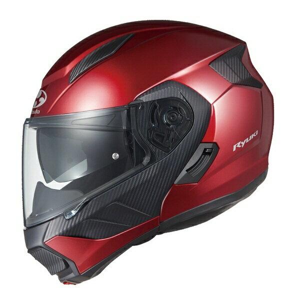 オージーケーカブト OGK KABUTO 596026 システムヘルメット RYUKI シャイニーレッド XL