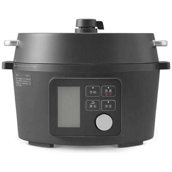 アイリスオーヤマIRISOHYAMA電気圧力鍋(4.0L)ブラックKPC-MA4-B