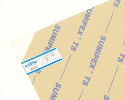 光 HIKARI AC00-346 アクリルキャスト板 透明 450x600x3mm 00869008-001