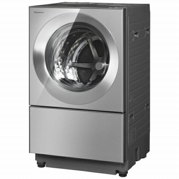 パナソニック Panasonic ドラム式洗濯乾燥機 Cuble(キューブル) プレミアムステンレス NA-VG2500L-X [洗濯10.0kg /乾燥5.0kg /ヒーター乾燥(排気タイプ) /左開き][洗濯機 10kg]