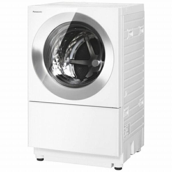 パナソニック Panasonic ドラム式洗濯乾燥機 Cuble(キューブル) マットホワイト NA-VG750R-W [洗濯7.0kg /乾燥3.5kg /ヒーター乾燥(排気タイプ) /右開き]