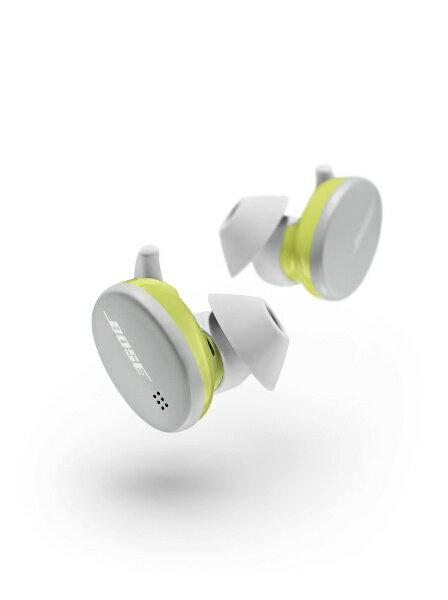 オーディオ, ヘッドホン・イヤホン BOSE BoseSportEarBudsWHT Glacier White () Bluetooth