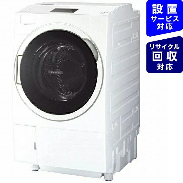 東芝 TOSHIBA ドラム式洗濯乾燥機 ZABOON(ザブーン) グランホワイト TW-127X9L-W [洗濯12.0kg /乾燥7.0kg /ヒートポンプ乾燥 /左開き][ドラム式 洗濯機 12kg]