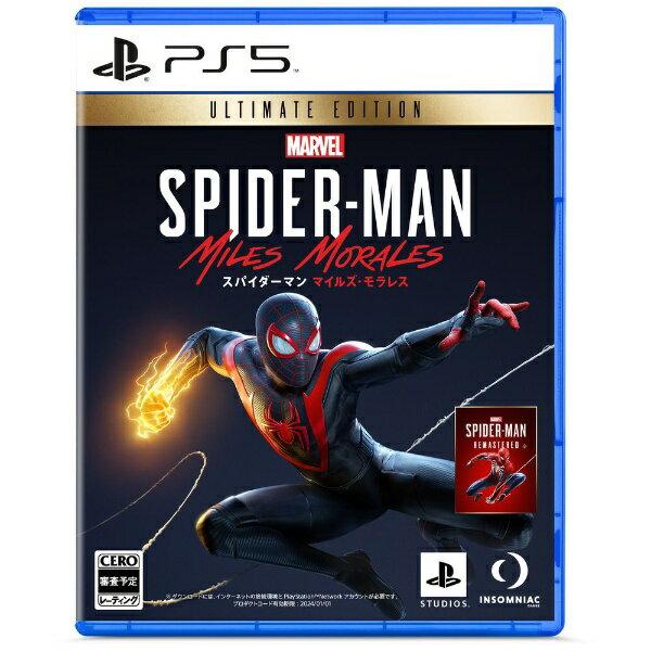 プレイステーション4, ソフト 20201112 Sony Interactive Entertainmen Marvels Spider-Man Miles Morales Ultimate EditionPS5