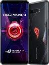ASUS エイスース ASUS ROG Phone 3 ブラックグレア「ZS661KS-BK512R16」Snapdragon 865 Plus 6.59型・メモリ/ストレージ:16GB/512GB nanoSIM x2 DSDV対応 SIMフリースマートフォン