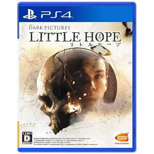 【2020年12月03日発売】 バンダイナムコエンターテインメント BANDAI NAMCO Entertainment 【早期購入特典付き】THE DARK PICTURES LITTLE HOPE(リトル・ホープ)【PS4】