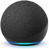 Amazon アマゾン Echo Dot (エコードット) 第4世代 - スマートスピーカー with Alexa チャコール B084DWX1PV [Bluetooth対応 /Wi-Fi対応]