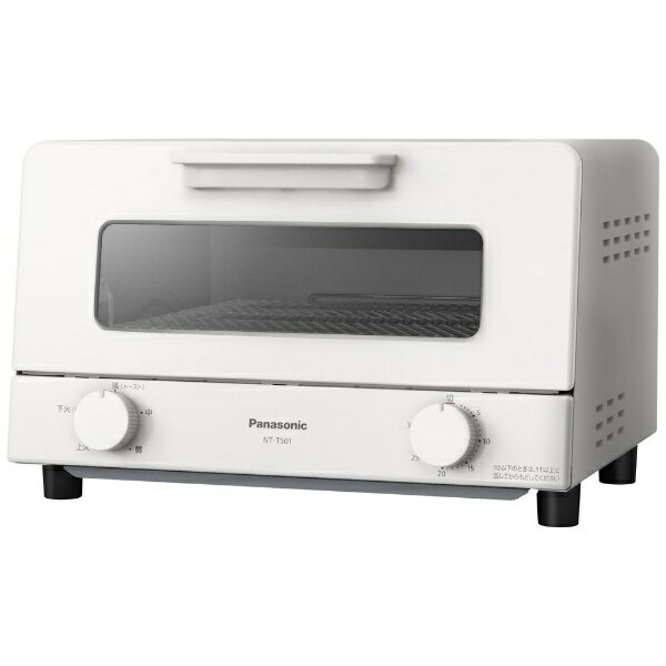 パナソニック Panasonic オーブントースター ホワイト NT-T501-W