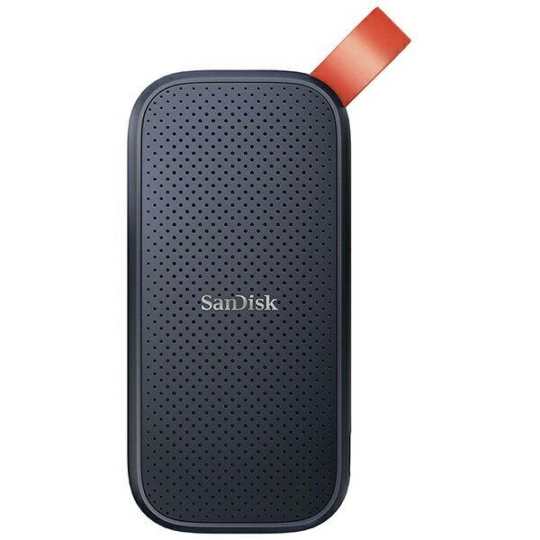 サンディスク SanDisk SDSSDE30-1T00-J25 外付けSSD USB-A接続 ブラック/オレンジ [ポータブル型 /1TB]画像