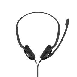 EPOS イ−ポス 504195 ヘッドセット PC 3 CHAT ブラック [φ3.5mmミニプラグ /両耳 /ヘッドバンドタイプ]
