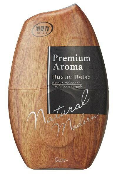 エステー S.T お部屋の消臭力 Premium Aroma ラスティックリラックス 400ml
