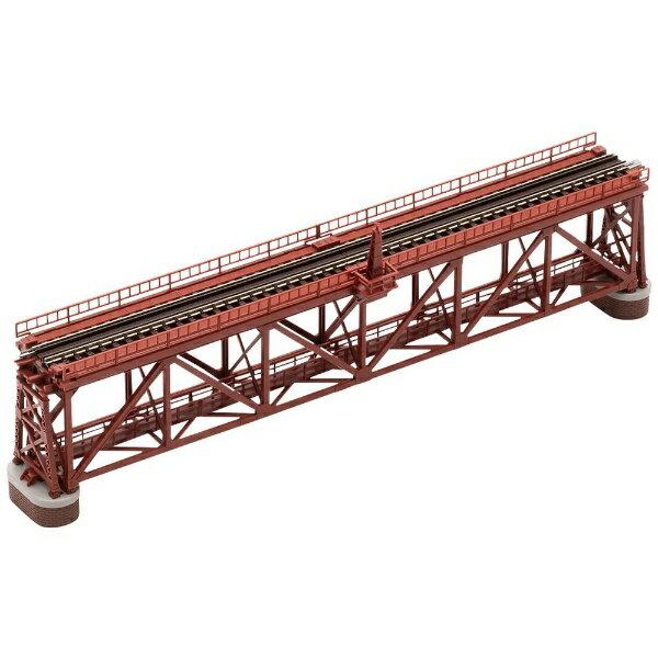 【2021年6月】 TOMIX トミックス 【Nゲージ】3266 上路式単線トラス鉄橋S280(F)(赤)(れんが橋脚・2本付)【発売日以降のお届け】