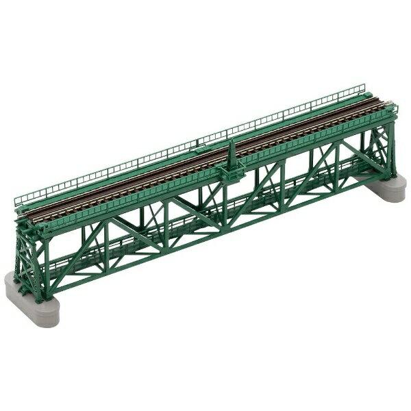 【2021年6月】 TOMIX トミックス 【Nゲージ】3267 上路式単線トラス鉄橋S280(F)(深緑)(PC橋脚・2本付)【発売日以降のお届け】