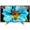 シャープ SHARP 液晶テレビ AQUOS 4T-C42DJ1 [42V型 /4K対応 /BS・CS 4Kチューナー内蔵 /YouTube対応 /Bluetooth対応][テレビ 42型 42インチ]・・・