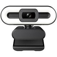 SUNEAST サンイースト SEW10-2K370CL ウェブカメラ マイク内蔵・LEDライト付 ブラック [有線]