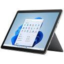 マイクロソフト Microsoft Surface Go3[SSD 128GB/メモリ 8GB/Intel Pentium/プラチナ/2021年]8VA-00015Windowsタブレット・・・