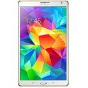 【送料無料】SAMSUNGGALAXY Tab S 8.4 [Androidタブレット・Wi-Fiモデル] SM-T700NZWAXJP (2014...