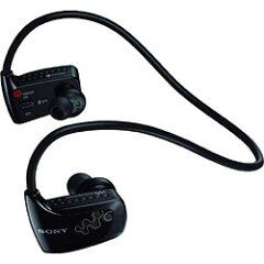 【送料無料】ソニーヘッドホン一体型デジタルオーディオプレーヤー walkman(ブラック/4GB) NWD-...