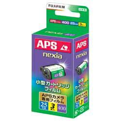 富士フイルム【APSフィルム】nexia400 S 25枚撮り(3本パック) [IX240NEXIA400S25EX3S]