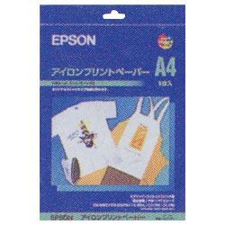 エプソンアイロンプリントペーパー(A4サイズ・5枚) MJTRSP1 [MJTRSP1]