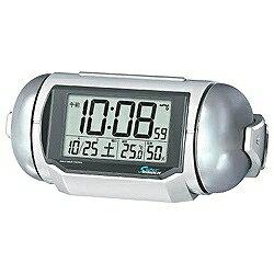 【あす楽対象】セイコー電波目覚まし時計 「スーパーライデン」 NR523W◆09◆