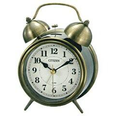 シチズン/リズム時計目覚まし時計 「ツインベル」 8RAA06-063[8RAA06063]◆09◆