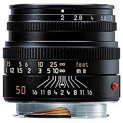 【送料無料】ライカズミクロン M f2/50mm (6bit) 11826C【ライカMマウント】[11826]