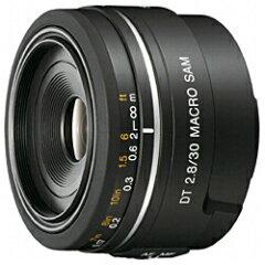 【送料無料】ソニーDT 30mm F2.8 Macro SAM [SAL30M28]