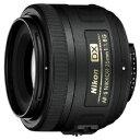 【送料無料】ニコンAF-S DX Nikkor 35mm F1.8G【ニコンFマウント】[AFSDX35MMF18G]