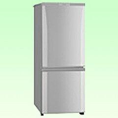 【送料無料】三菱《基本設置料金セット》 2ドア冷蔵庫 (146L) MR-P15S-S ピュアシルバー [MR...